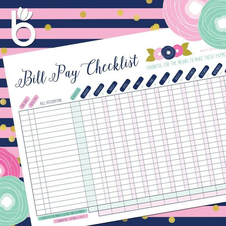 The  Best Bill Pay Organizer Ideas On   Organize