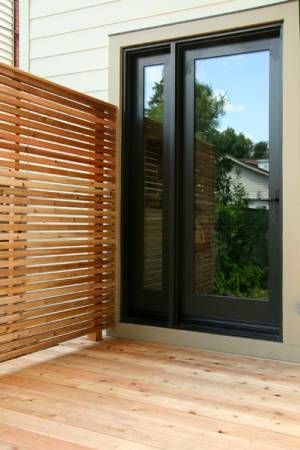 This could be the solution to needing privacy from the neighbours on the one side of us