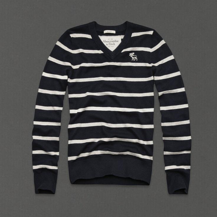 Black & white stripe sweater