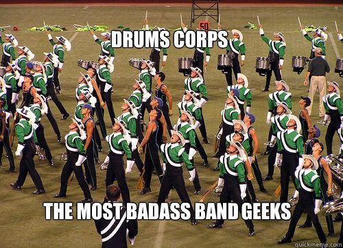 Never distracted... Squirrel - Drum Corps - quickmeme""
