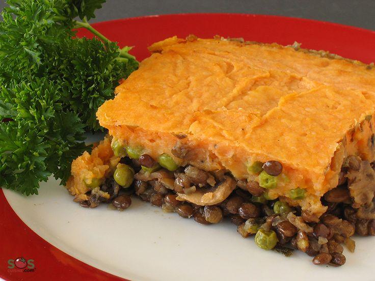 Recette - Étagé de lentilles et légumes [S.G.] [S.L.] | SOS Cuisine