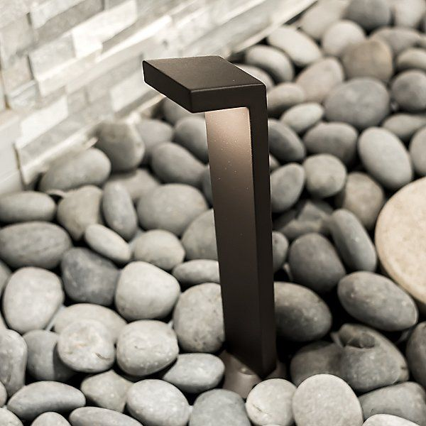 The Sleek Design Of This Outdoor Light Blends Seamlessly Into Pathways And Provides Soft Even Illum Outdoor Path Lighting Pathway Lighting Solar Lights Garden