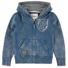 Pepe Jeans - Full zip cotton fleece hoodie - 76327