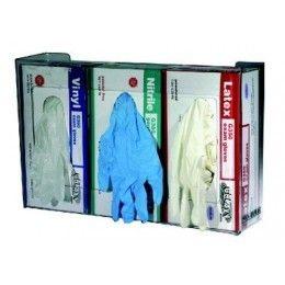 Dispensador de guantes SANIGUANT, organizador a pared fabricado en metacrilato. Se venden en cajas de 20 unidades. http://www.ilvo.es/es/product/dispensador-de-guantes