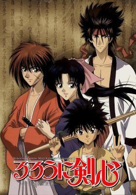 Rurouni Kenshin (Samurai X) - Animes para assistir antes de morrer