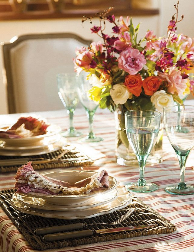 best 20 casual table settings ideas on pinterest dinner. Black Bedroom Furniture Sets. Home Design Ideas