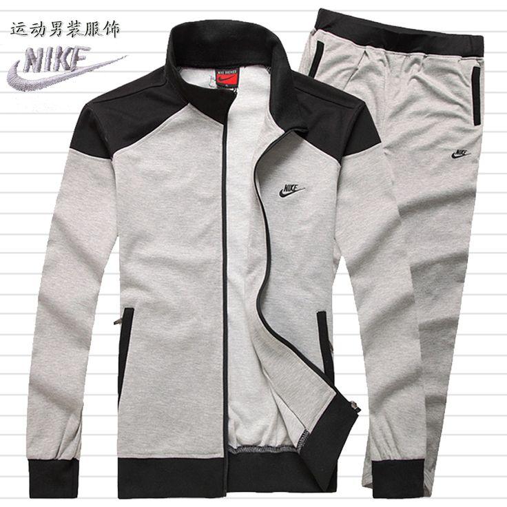 Nike Sportswear костюм мужской весной и новые юношеская спортивная свитер пиджак воротник мужские костюмы - Taobao