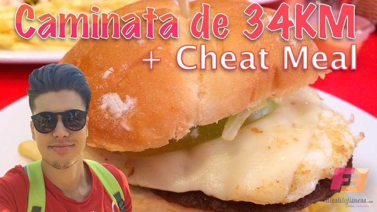 Caminata de 34KM y Cheat Meal / Comida Trampa