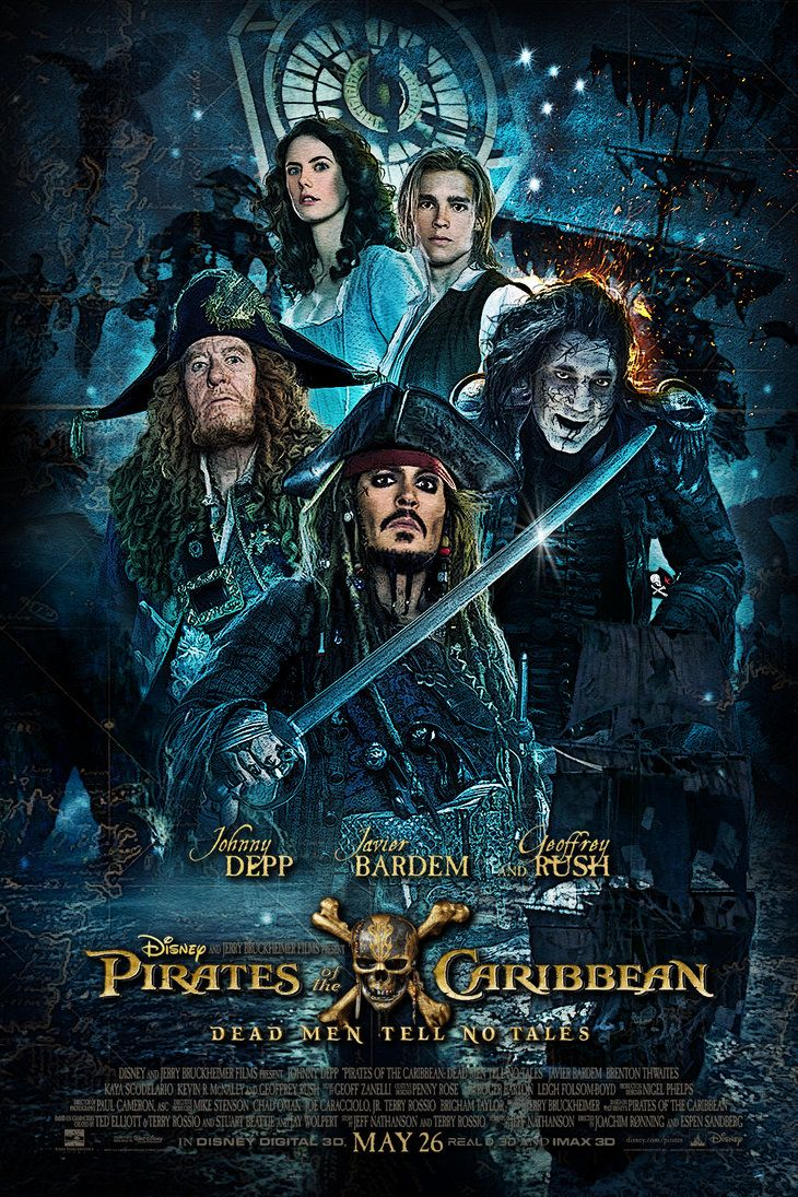 PIRATES of the CARIBBEAN: DEAD MEN TELL NO TALES Poster | Favorite