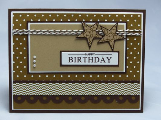 Stampin Up Handmade Greeting Card