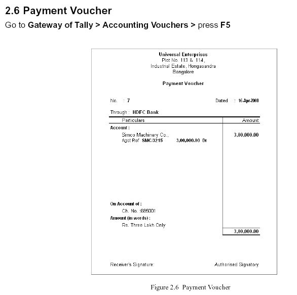 Payment Voucher Format  LondaBritishcollegeCo