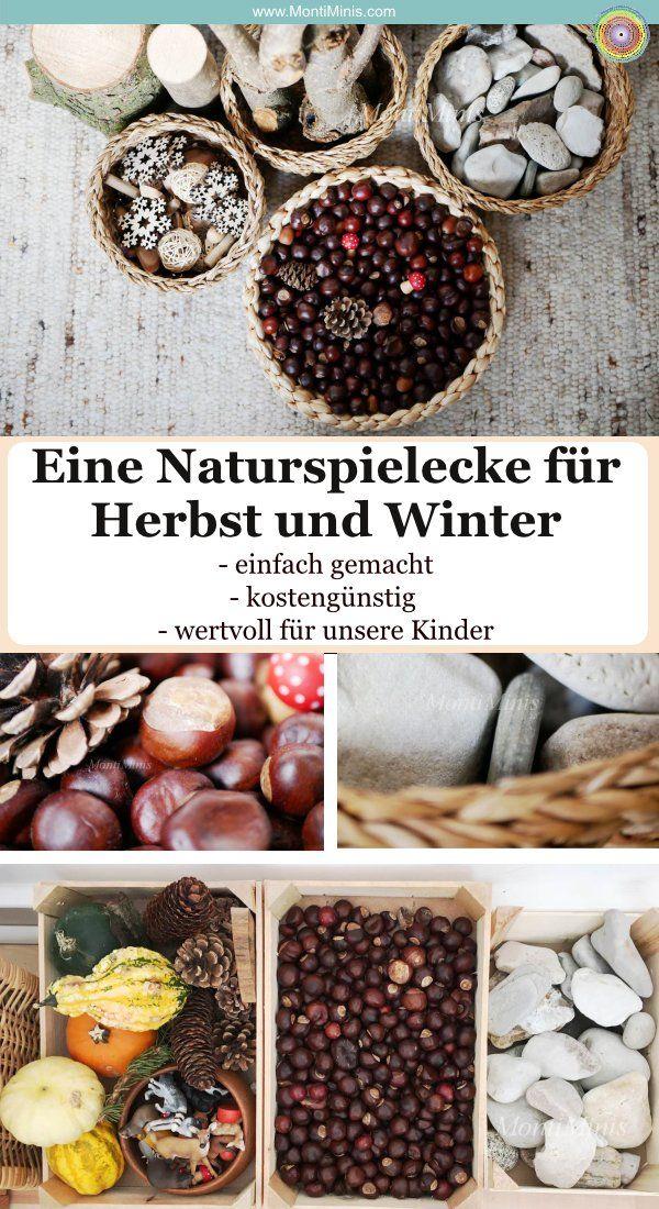 Tschüss Winter! Und eine kleine Liebeserklärung an unsere Naturspielecke