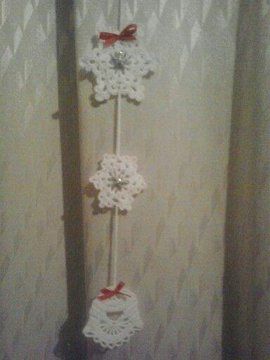 Vánoční závěs