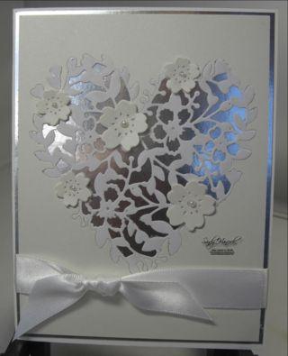 Bloomin' Heart Anniversary/Wedding Card