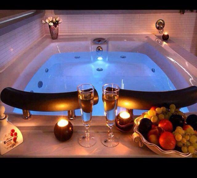 awesome romantic bathroom | 45 best Bubble bath, a ladys best friend images on ...