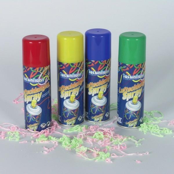 Luftschlangenspray farblich sortiert 125 ml dose wird for Dekoartikel party