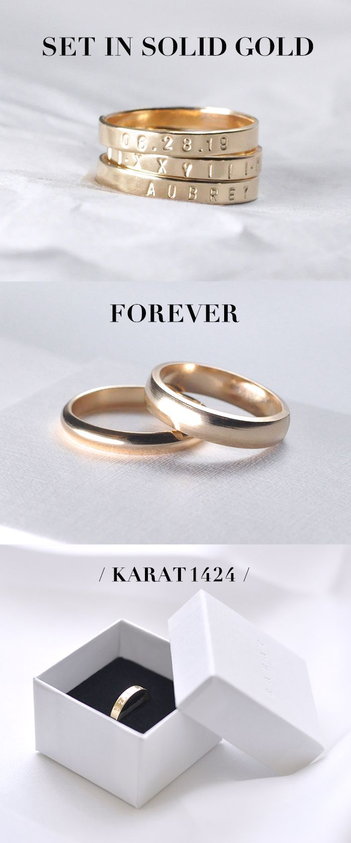 Create A One Of A Kind Forever Ring Family Ring Love Band