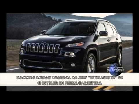 """Hackers toman control de Jeep """"inteligente"""" de Chrysler en plena carretera"""