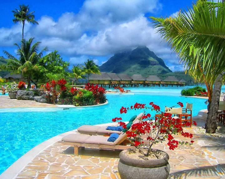 Bora bora best tropical vacations pinterest for Tropical places to travel
