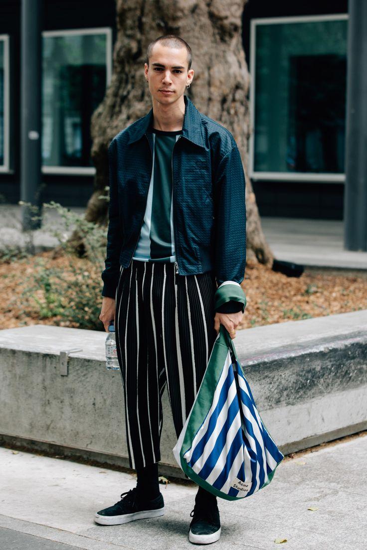 The Best Street Style From Paris Men's Fashion Week Photos | GQ  Mens Fashion | #MichaelLouis - www.MichaelLouis.com