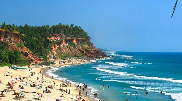 #Varkala is one of the most beautiful coastal towns in the #Thiruvananthapuram district of #Kerala.