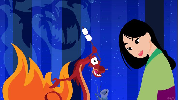 In this week's Disney Doodle, a series in which we showcase a piece of art designed to show what a Disney character (or characters) may do if they had the opportunity to visit a park on their own. This week, designer Ashley Taylor has chosen Mulan