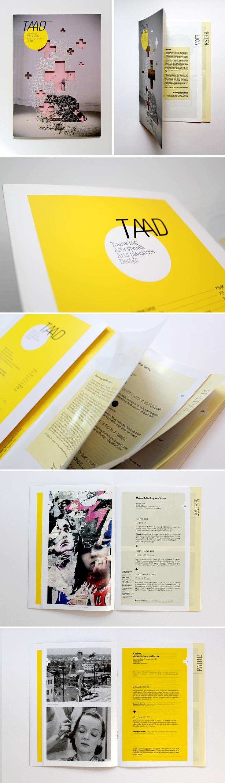 TAAD Program #design #Magazine #Layout