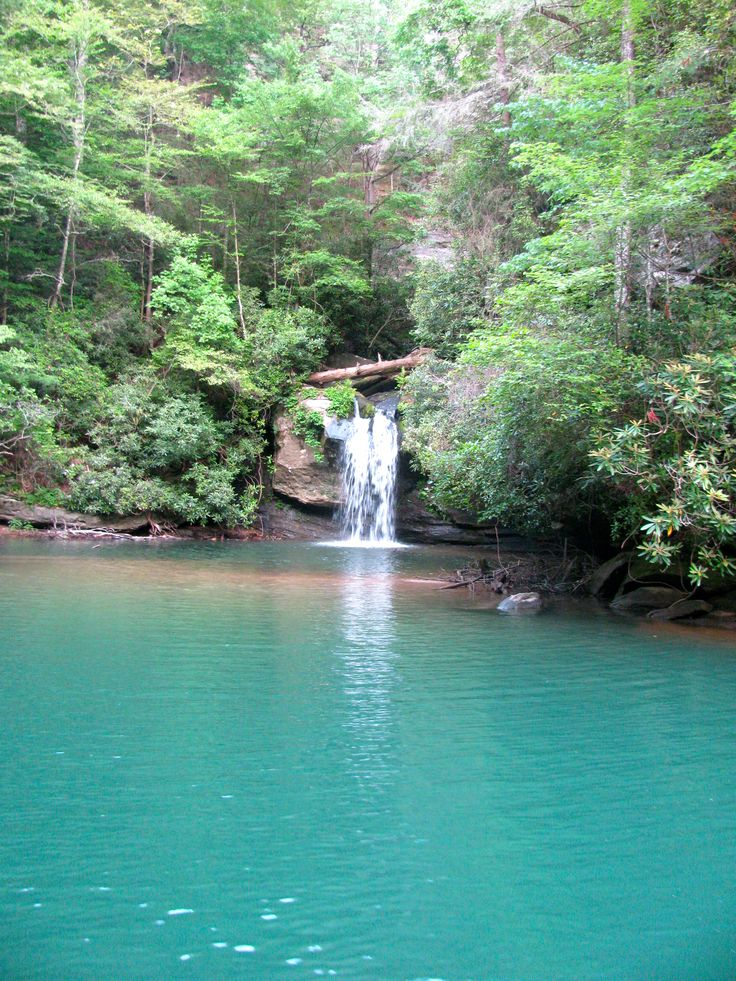 Lake Jocassee, SC --- My friends and I spent lots of fun hours searching this lake for its many beautiful waterfalls.