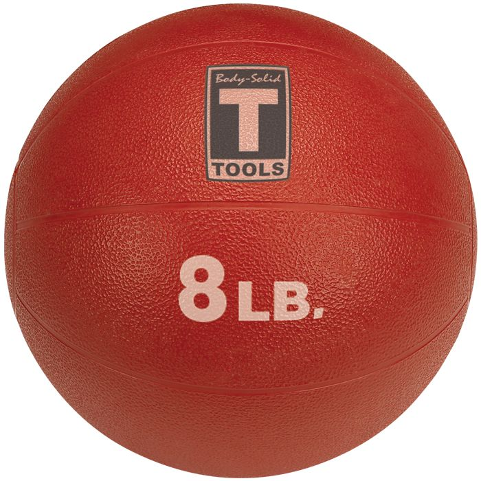 Body-Solid Medicine Ball - 8 lbs (Red)