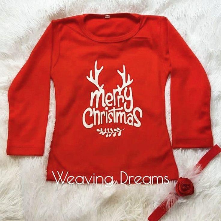 Navidad para los más peques ! Merry Christmas - camibuso estampado . Envíos a nivel nacional - prendas 100% colombianas  Hecho a mano