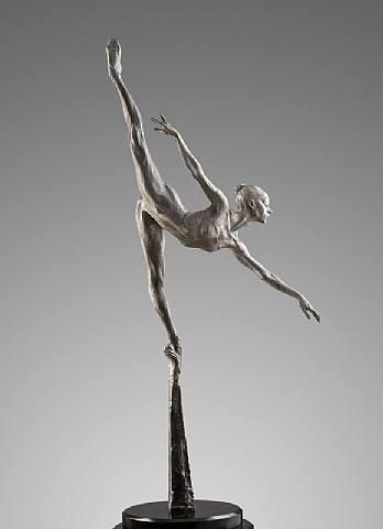 artnet Galleries: Penche Monet, Platinum by Richard MacDonald from Dawson Cole Fine Art