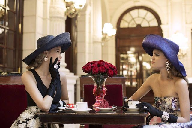Lily Of The City:  Lily Of The City at InterContinental Paris Le Gra...