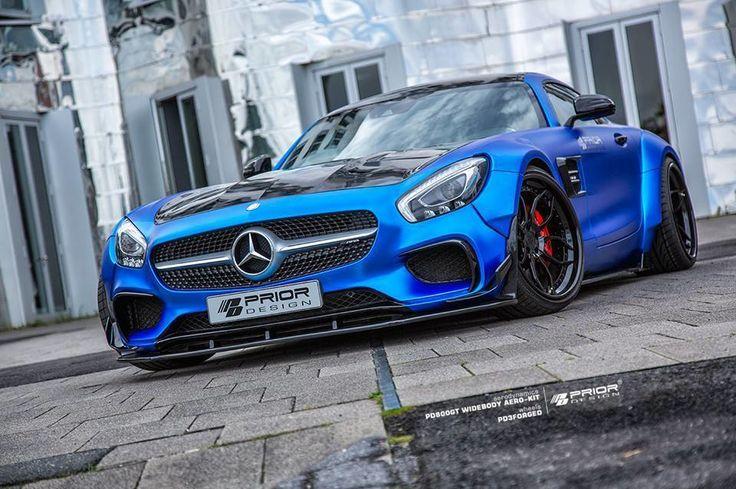 "286 Likes, 4 Comments - Prior Design North America (@priordesignusa) on Instagram: ""Ultra blue Prior Design #AMG #GTS #PD800GT Available now! info@priordesignnorthamerica.com //…"""