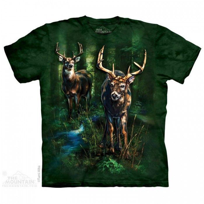 Tricou The Mountain - Cadou conservat Dappled Deer
