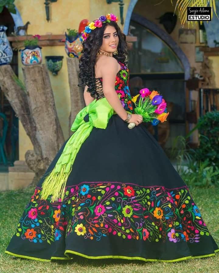 Vestido 15 Años Vestidos De Quinceañera Mexicana Vestidos