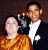 Barack Obama Mother | Barack Obama and his mother, Ann Dunham Obama Soetoro, on his wedding ...