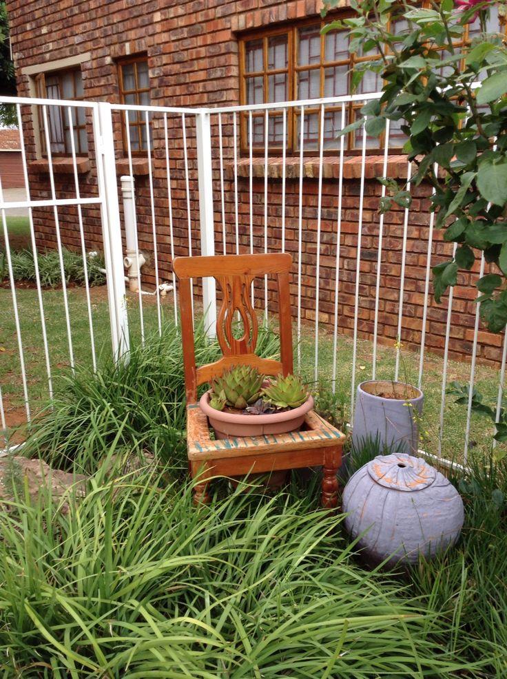 Onherstelbare stoel...nuwe doel