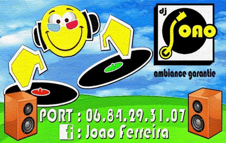 CARTE DE VISITE DJ JOAO 2