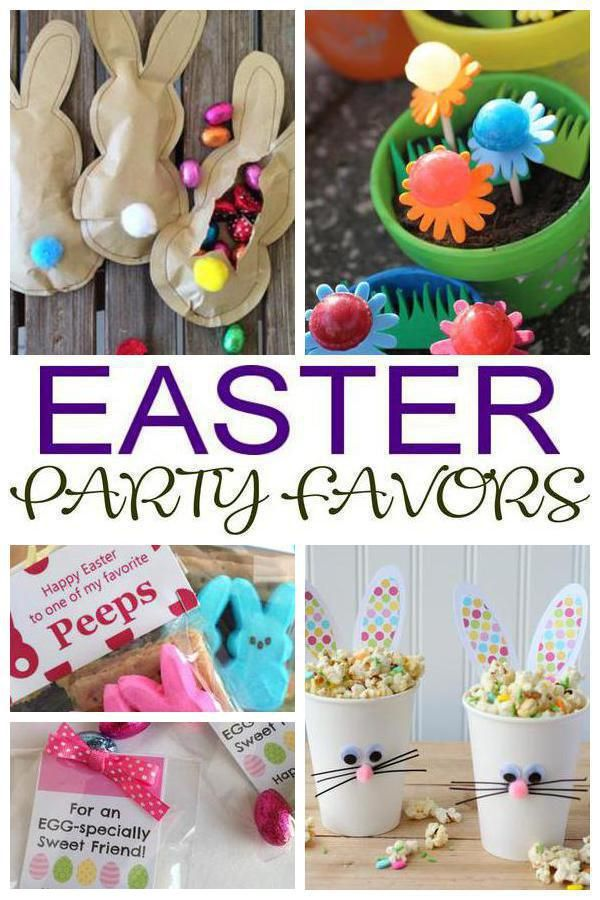 Easter Party Favors The Best Easter Party Ideas For Any Age Gift For Guests That They Will Love To Take Easter Party Favor Easter Party Easter Gifts For Kids