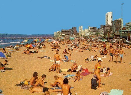 Old Durban Pics: 19 Dairy Beach in the 80's