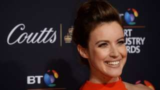 TV host Charlie Webster back in UK after malaria coma  BBC News