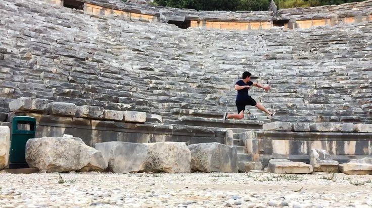 Rock tombs in Myra Turkey  Theatre  Destinations