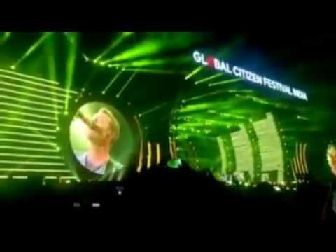 LIVE : GLOBAL CITIZENS FESTIVAL | Coldplay Live Concert from India