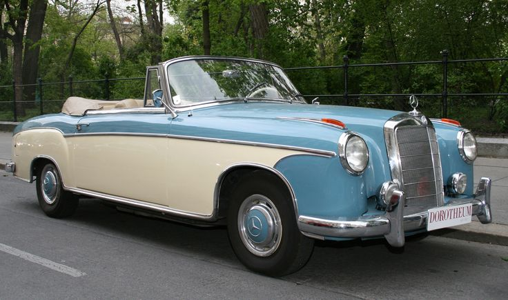Mercedes-Benz Cabriolet 220 SE 1960.                                                                                                                                                                                 More