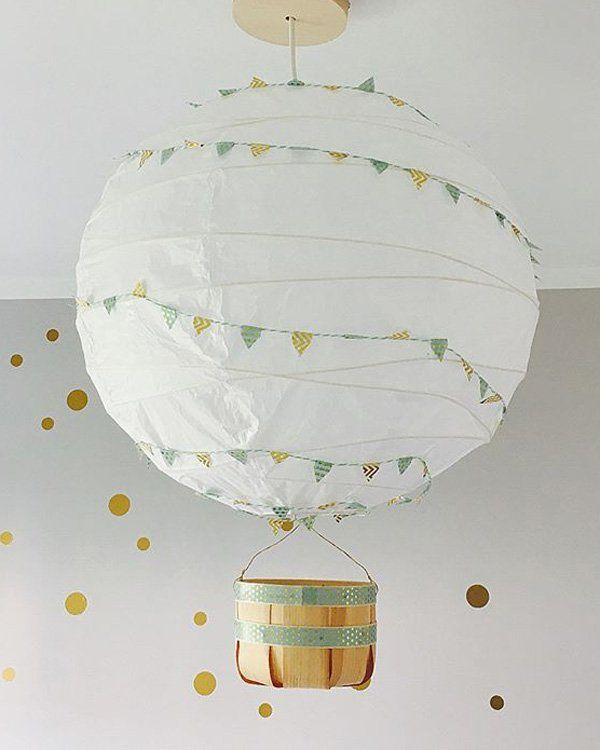 Ikea Regolit Hack So Schon Kann Die Einfache Deckenleuchte Sein Ikea Regolit Lampe Kinderzimmer Junge Lampe Kinderzimmer