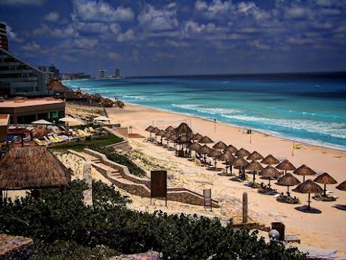 Курортный город Канкун, Мексика