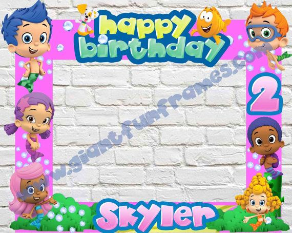 85 best Bubble Guppies Party images on Pinterest | Birthday party ...