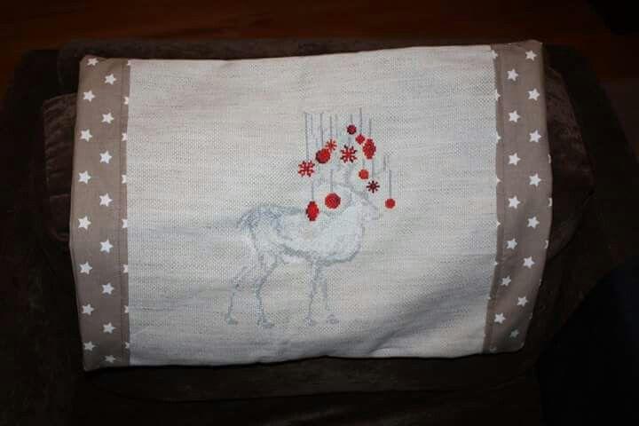 Reindeer pillow case