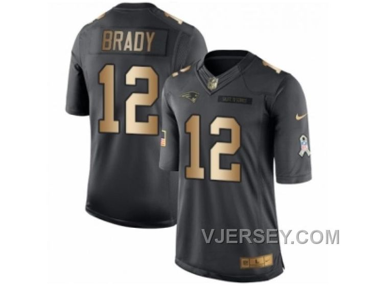 http://www.vjersey.com/mens-nike-new-england-patriots-12-tom-brady-limited-black-gold-salute-to-service-nfl-jersey-top-deals.html MEN'S NIKE NEW ENGLAND PATRIOTS #12 TOM BRADY LIMITED BLACK GOLD SALUTE TO SERVICE NFL JERSEY TOP DEALS Only 21.21€ , Free Shipping!
