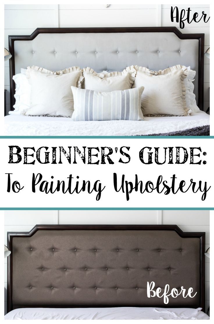 Want to paint upholstery but not sure where to start? @blesserhouse's beginner's guide should get you there: